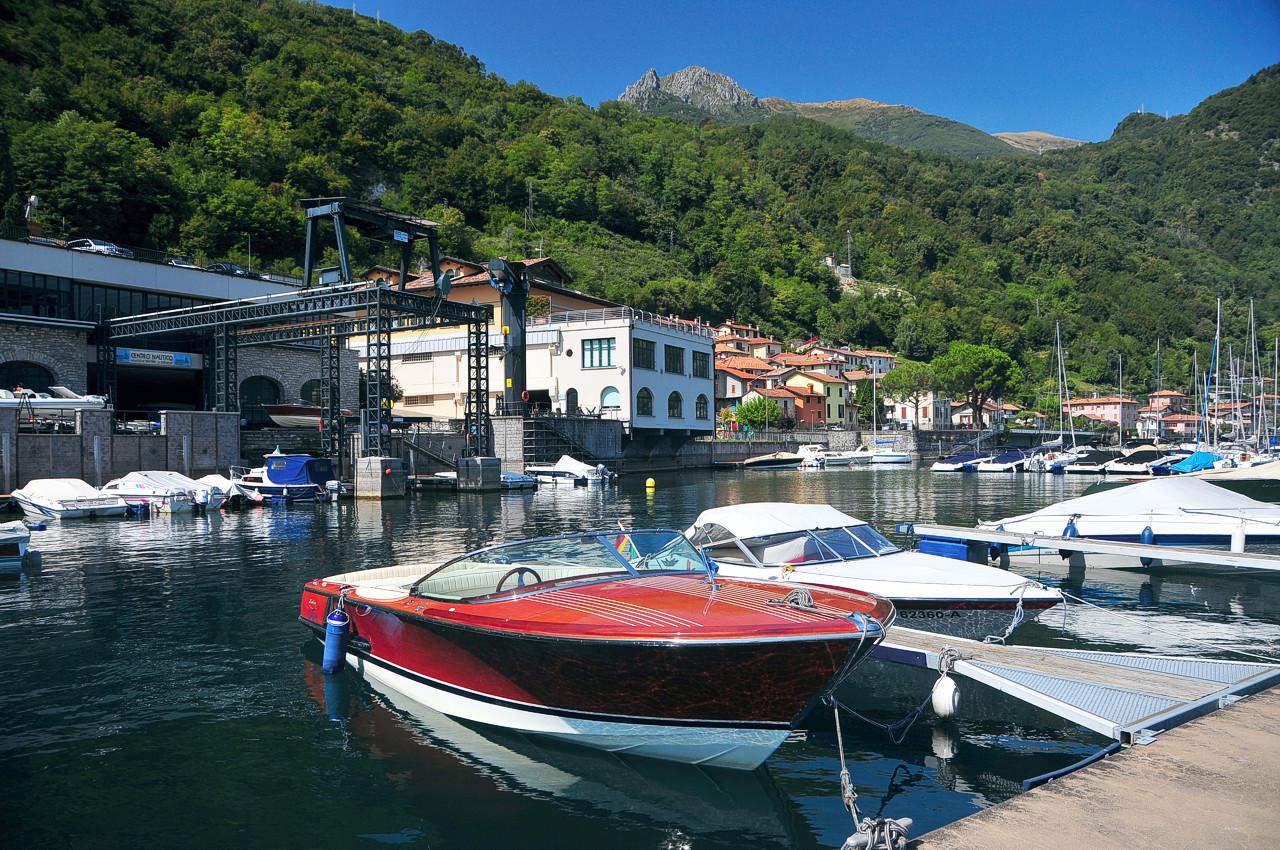 berths Menaggio moorings lake Como