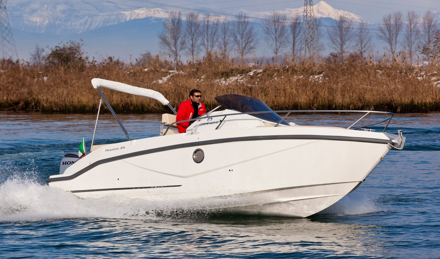 Cranchi Panama 24 to sell lake Como dealer