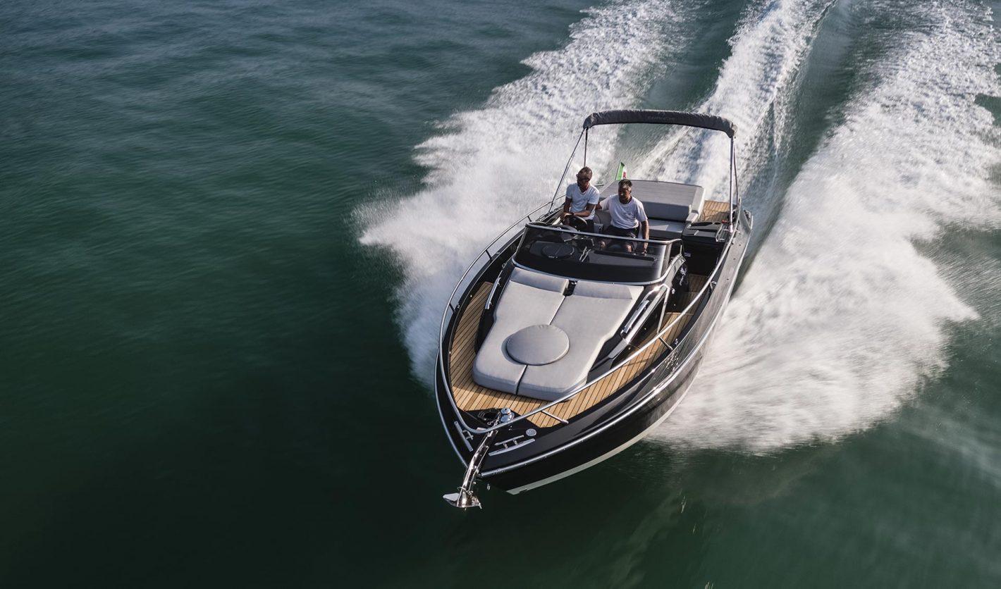 Cranchi Endurance 30 in vendita sul lago di Como